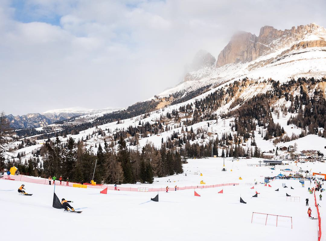 FIS Snowboard World Cup - Carezza ITA - PGS - Overview © Miha Matavz